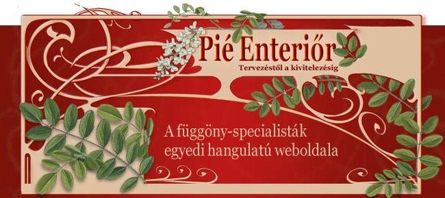 Pié Enteriőr weboldala