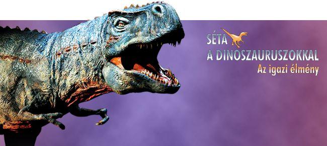 Séta a dinoszauruszokkal show