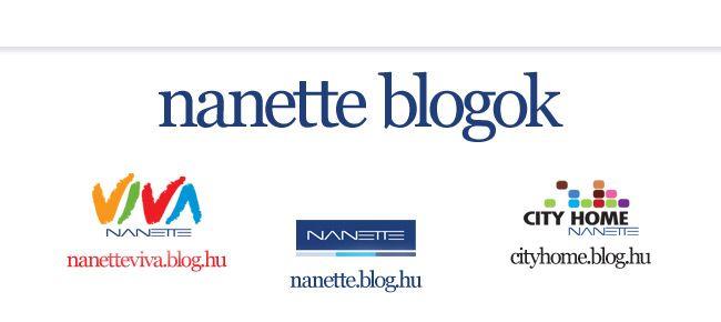 Nanette központi, Nanette Viva és City Home projekt - blog.hu sablon