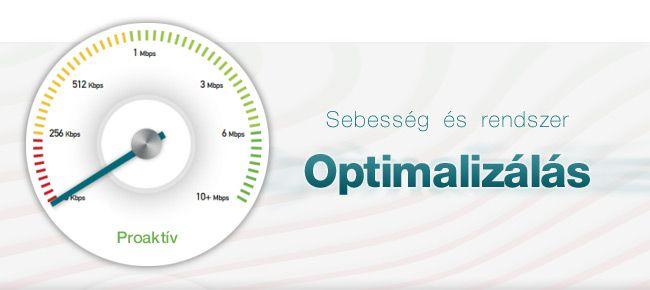 Adminfelület sebesség optimalizálás
